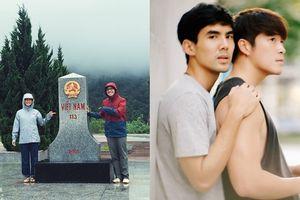 Mỹ nữ 'Sóng gió cuộc đời' đến Việt Nam cùng trai lạ còn người yêu ở nhà thì…