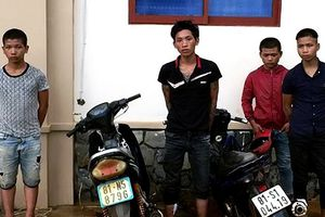 Chư Pưh (Gia Lai): Bắt nhóm thiếu niên trộm 4 xe máy trong 1 giờ