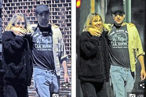 Robert Pattinson công khai 'khóa môi' bạn gái mới trên phố
