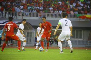 Video U23 Myanmar thua sốc U19 Hàn Quốc trước thềm ASIAD 2018