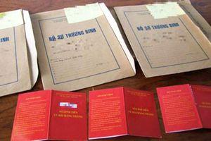 Xử lý nghiêm vụ 569 hồ sơ thương binh giả tại Nghệ An