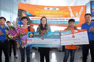 Việt Nam giành 3 HCĐ thi tin học văn phòng, thiết kế đồ họa thế giới
