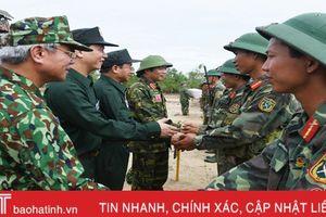 Diễn tập khu vực phòng thủ tỉnh Hà Tĩnh hoàn thành mục đích, đảm bảo an toàn tuyệt đối