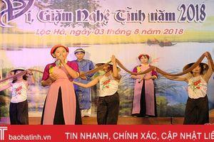 Lộc Hà tổ chức thành công Liên hoan Dân ca ví, giặm Nghệ Tĩnh năm 2018