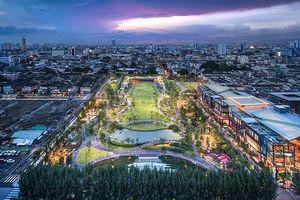 Băng Cốc xây dựng công viên chứa nước trong thành phố để chống ngập lụt