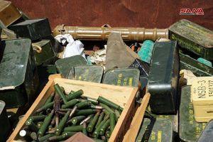 Quân đội Syria chiếm lượng vũ khí khổng lồ của IS tại chiến địa Daraa