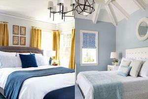 10 căn phòng ngủ màu xanh đẹp như mơ khiến ai cũng muốn sở hữu