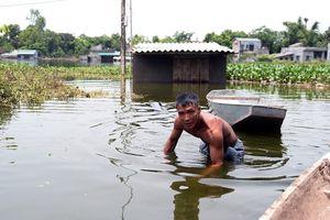 Vỡ đê bối ở Hà Nam: Nước mắt dân hòa vào trong nước lũ