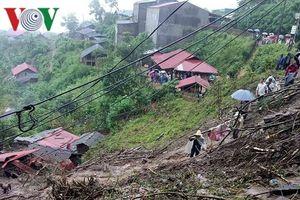 Lai Châu sạt lở núi, 1 người chết và 4 người bị thương nặng