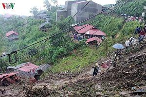 Sạt lở do mưa lũ ở Lai Châu: Ít nhất 6 người đã thiệt mạng