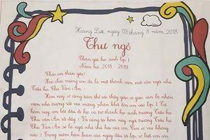 Những 'lá thư bí mật' xúc động, trìu mến của cô giáo tiểu học gửi học trò dịp đầu năm