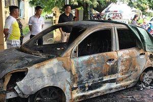 Hải Phòng: Truy bắt nghi phạm đốt xe ô tô của Đại úy công an