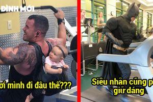 24 bức ảnh chứng minh chuyện gì cũng có thể xảy ra ở phòng tập gym