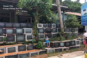 Căn nhà độc lạ với bờ tường 100% làm từ... tivi cũ gây sốt MXH