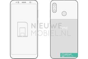 Lộ bản phác thảo thiết kế chiếc HTC U12 Life mới