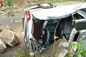 Các nạn nhân vụ tai nạn đá rơi vào xe khách tại Mường Lay đã tỉnh táo