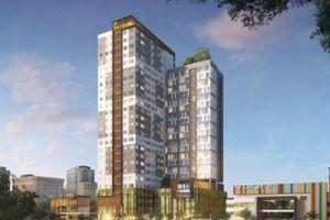 Dự án chung cư Bách Việt Areca Garden xây 4 tầng mới có giấy phép!