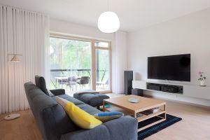 Ngôi nhà có thiết kế đơn giản mà tinh tế