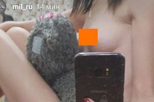 Instagram Bộ Quốc phòng Nga xuất hiện ảnh cô gái khỏa thân