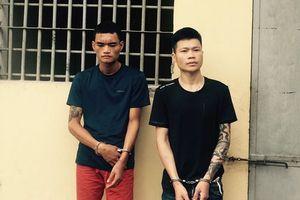 Hà Nội: Tạm giữ 2 đối tượng liều lĩnh cướp giật tài sản tại các tiệm vàng
