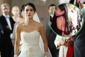 Chú rể vui vẻ ôm chặt phù dâu ngay tại hôn trường, cô dâu 'chướng tai gai mắt' đòi hủy hôn