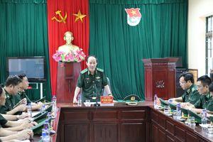 Thiếu tướng Đỗ Danh Vượng kiểm tra các đồn Biên phòng tuyến biên giới Móng Cái