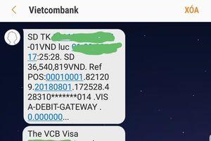 Hàng loạt thẻ quốc tế Visa mất tiền