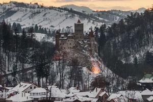 Chuyến viếng thăm lâu đài có thật của bá tước Dracula