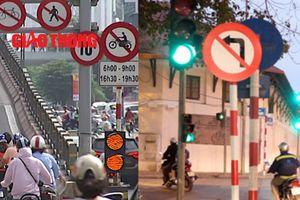 Người tham gia giao thông phớt lờ biển cấm chỉ vì... nhanh, tiện