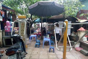 Đống Đa – Hà Nội: Chợ tạm Phương Mai đến bao giờ hết nhếch nhác?