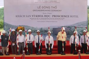 Bình Định: Khởi công khách sạn 'Vì Khoa học' đầu tiên tại Quy Nhơn
