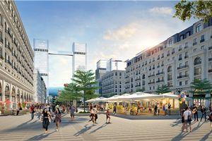 Dự án bất động sản có tuyến phố đi bộ 'hoành tráng' tại Hạ Long