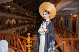 Phan Thị Mơ lọt Top 10 trang phục Eco Tourism với áo dài ấn tượng