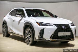 SUV hạng sang cỡ nhỏ Lexus UX 2019 lần đầu đến Đông Nam Á