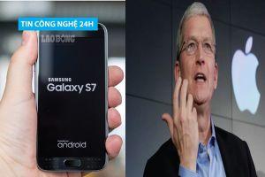 Tin công nghệ 24h: Samsung tạo bản vá để bảo vệ điện thoại Galaxy S7; Google 'thanh lọc' 145 ứng dụng