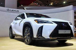 Xe sang Lexus UX giá 1,6 tỷ đồng chào Đông Nam Á
