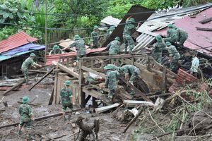 Tình quân dân nơi 'rốn lũ' Lai Châu