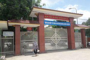 Bệnh viện đa khoa Nghi Lộc báo cáo vụ việc cháu bé 7 tháng tuổi tử vong