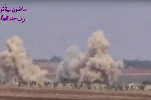 Tên lửa, pháo binh Syria trút sấm sét hủy diệt căn cứ địa thánh chiến bắc Hama