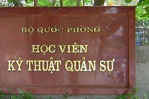 Nam sinh Sơn La đạt điểm thi cao nhất vào HV Kỹ thuật Quân sự