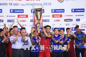 U23 Việt Nam vô địch Giải bóng đá quốc tế U23 - Cúp VinaPhone 2018