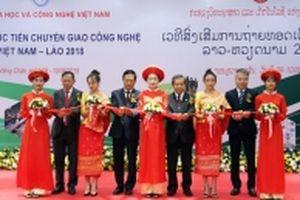 Diễn đàn Xúc tiến chuyển giao công nghệ Việt Nam - Lào 2018