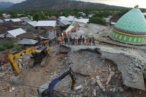 Chưa dứt tang thương, Indonesia lại hứng dư chấn 5,9 độ richter