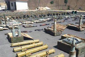Syria: Bên trong kho vũ khí lớn mới được phát hiện ở Daraa