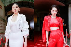 Lộ diện HLV quyền lực của Siêu mẫu Việt Nam 2018: Kỳ Duyên - Hương Giang trắng, đỏ đối nghịch 'quét sạch' thảm đỏ