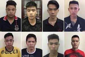 Hà Nội: 100 thanh niên mang hung khí đi hỗn chiến trong đêm