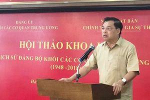 Chân dung tân Phó Trưởng ban Tuyên giáo Trung ương Lê Mạnh Hùng