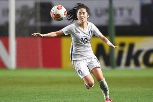 Nữ cầu thủ Hàn Quốc dự ASIAD 2018 xinh đẹp như hotgirl
