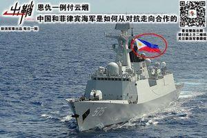 Truyền thông Philippines bẽ mặt vì 'gắn nhầm' quốc kỳ lên chiến hạm Trung Quốc