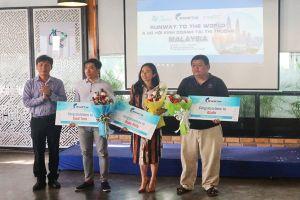 Ba công ty khởi nghiệp Việt Nam sang Malaysia huấn luyện